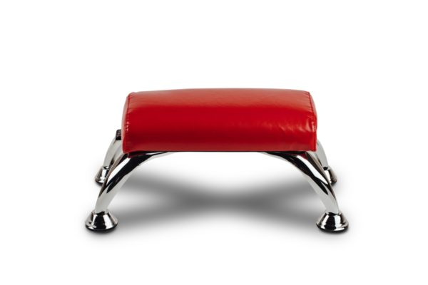 Red manicure roller - footed